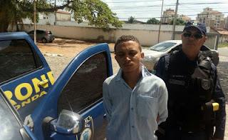 Guarda Municipal de Natal (RN) prende acusado de roubo nas proximidades do Hospital Municipal