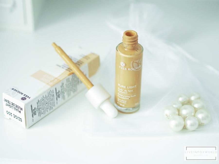 top 5   letné vychytávky   Yves Rocher Ľahký rozjasňujúci make-up