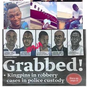 Delta Big Boy, Kess Billions, Finally Arrested For Alleged Robbery By Ghana Police