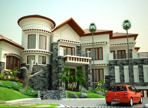 Foto Rumah Mewah 1 dan 2 Lantai Di Indonesia 2020 Foto