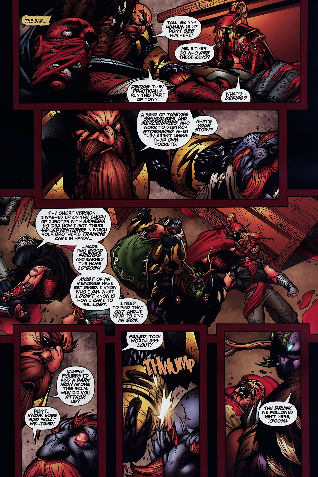 Read online World of Warcraft comic -  Issue #8 - 20