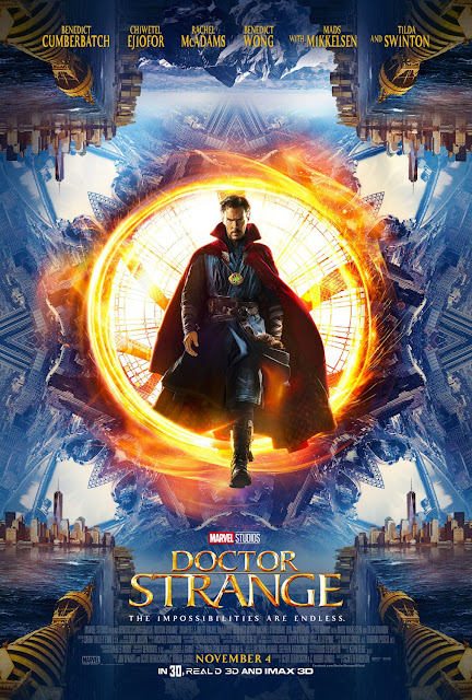 San Diego Comic-Con 2016 Debut Doctor Strange Theatrical One Sheet Movie Poster