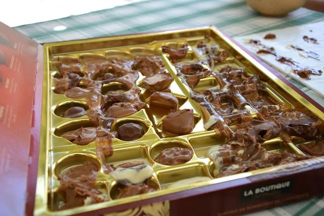 Stopione klubowe czekoladki