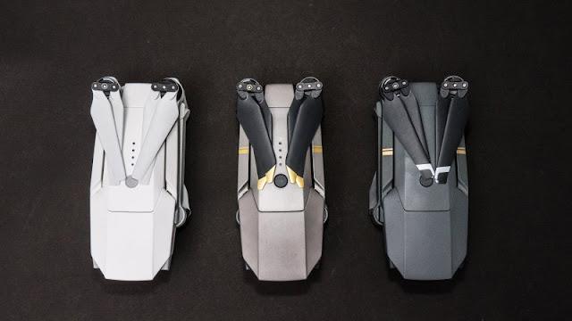 DJI Mavic Pro Alpine White Comparison