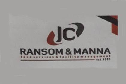 Lowongan Kerja JC Ransom & Manna Pekanbaru Oktober 2018