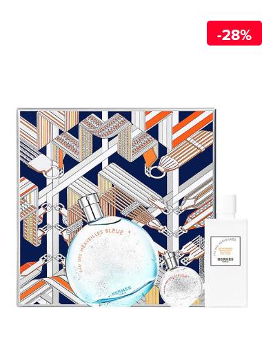 Set cadou Eau des Merveilles Bleue (Apa de toaleta 100 ml + Apa de toaleta 7.5 ml + Lotiune de corp 80 ml), pentru femei