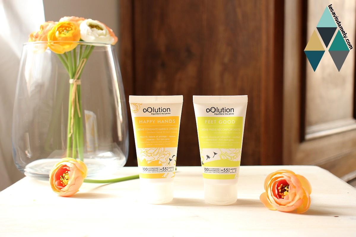 avis et test soins hydratants nourrissants corps Oolution naturel bio