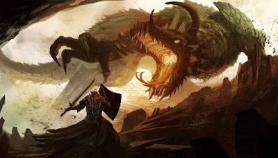 Game of Thrones Dragon Art