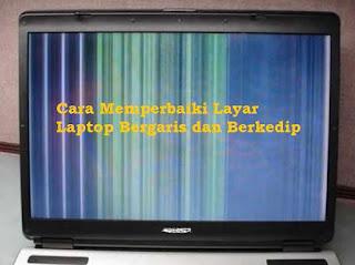 5 Cara Memperbaiki Layar LCD Laptop Bergaris Warna-warni Paling Mudah
