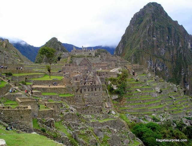 Cidadela de Machu Picchu e Montanha de Wayna Picchu