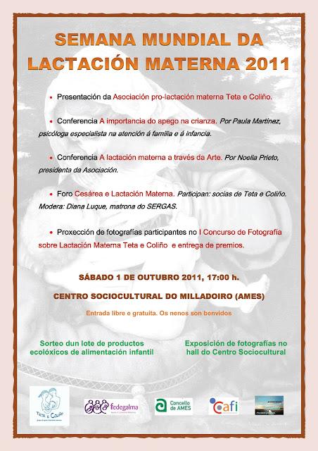 Semana Mundial da Lactación Materna 2011