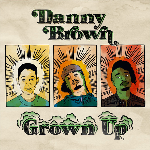 Danny Brown - Grown Up [Single] Cover