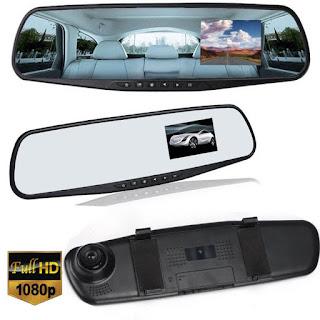 retrovisore specchio telecamera