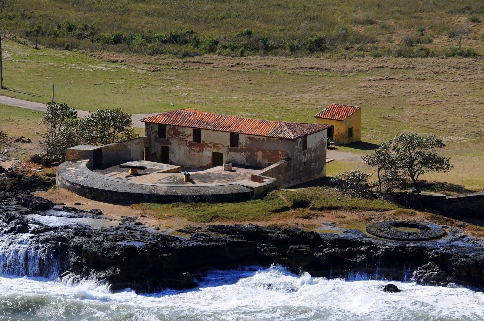Batería de costa El Morrillo, en la costa de la bahía de Matanzas
