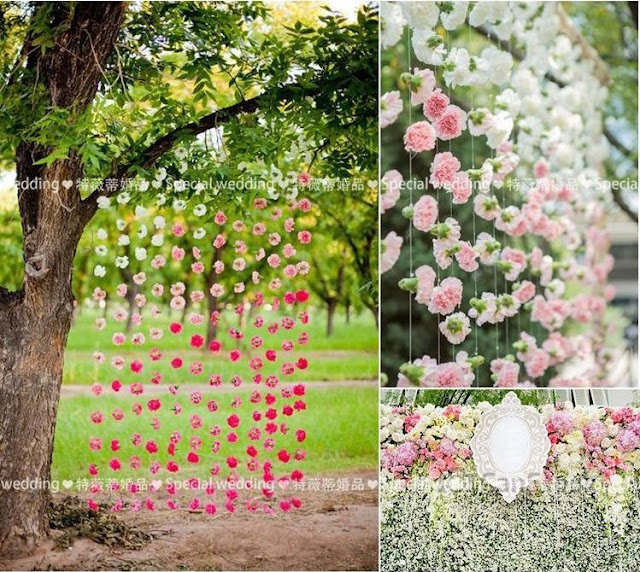 Wedding Wall Flower Decor 50 Pieces ezbuy
