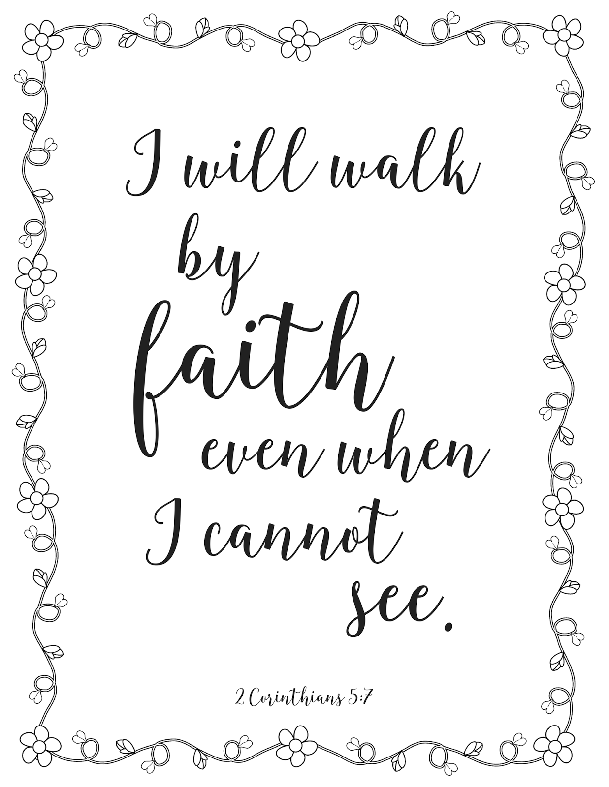 The Prudent Pantry: I will walk by faith even when I