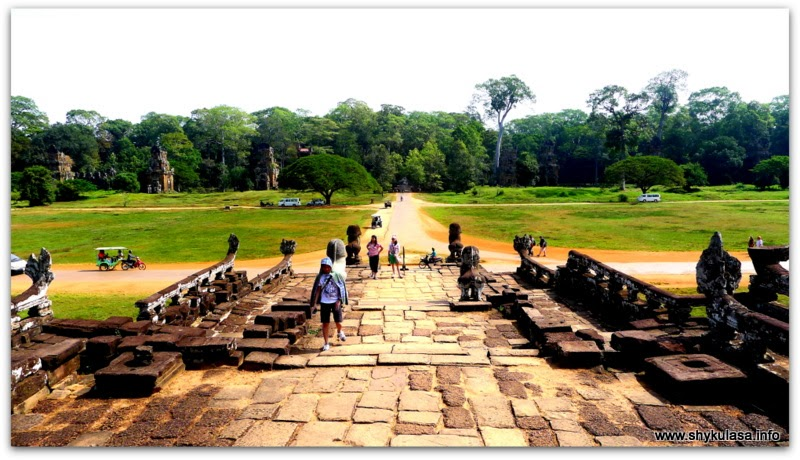 Terrace of the Elephant, Angkor Thom