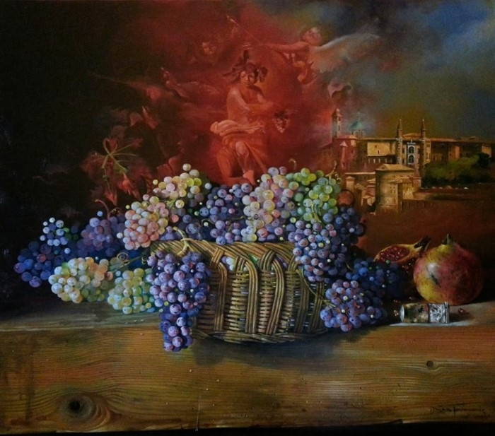 Сербский художник-реалист. Dusan Jovanovic 3