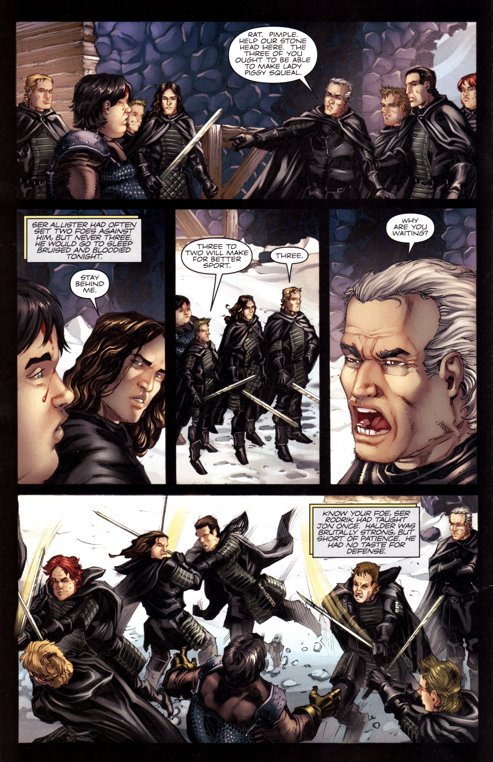 Read online A Game Of Thrones comic -  Issue #8 - 14