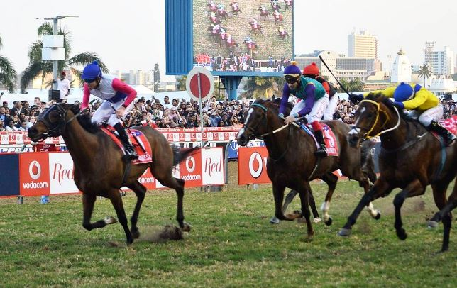 Marinaresco winning the 2017 Vodacom Durban July - Al Sahem - Greyville