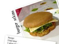 Resepi Burger Atkins