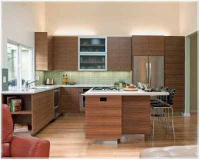 desain dapur dan ruang makan gaya klasik