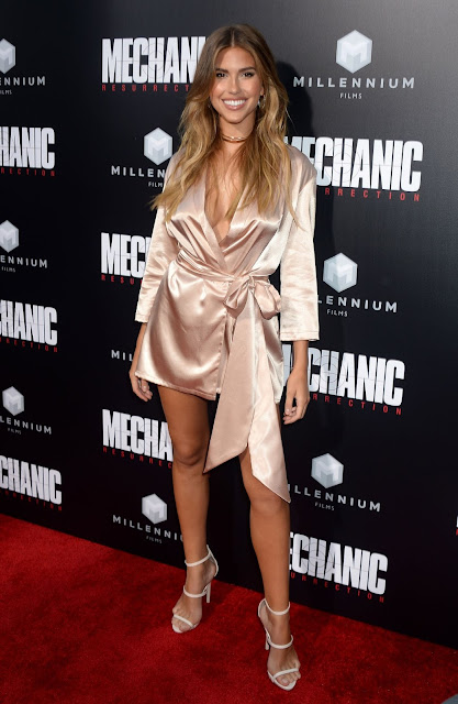 Kara Del Toro – 'Mechanic: Resurrection' Premiere at ArcLight Hollywood, in LA