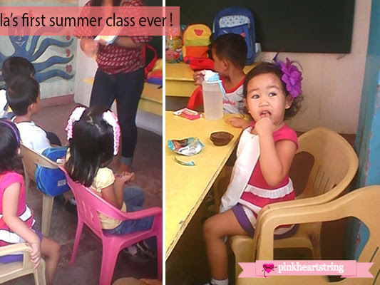 My Little Lady's First Summer Class Ever!