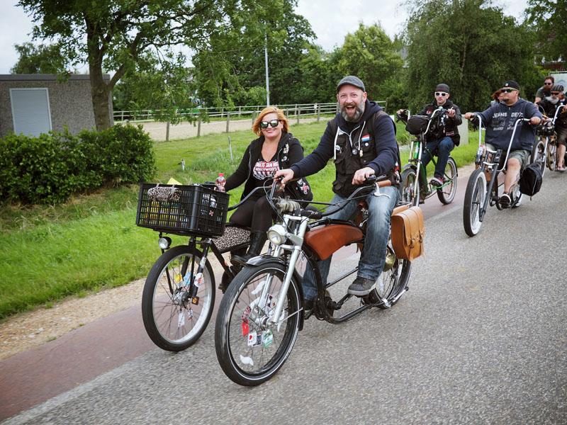 Netherlands custom bicycle chopaderos keytown cruisers leyde beachcruiser chopperbike