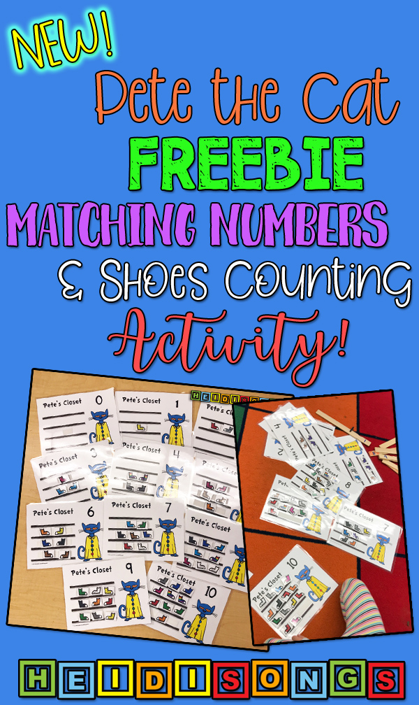 pete the cat match sets