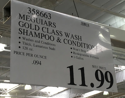 Deal for the Meguiar's GoldClass Car Wash Shampoo and Conditioner at Costco