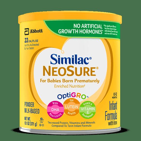 Similac NeoSure untuk bayi pramatang