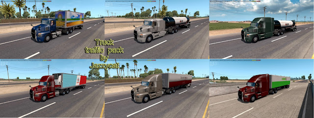 ats truck traffic pack v2.1 screenshots 1, Mack Anthem