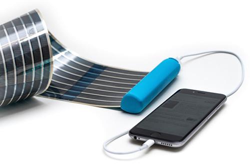 chargeur solaire flexible
