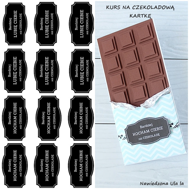 kurs na kartkę czekoladę
