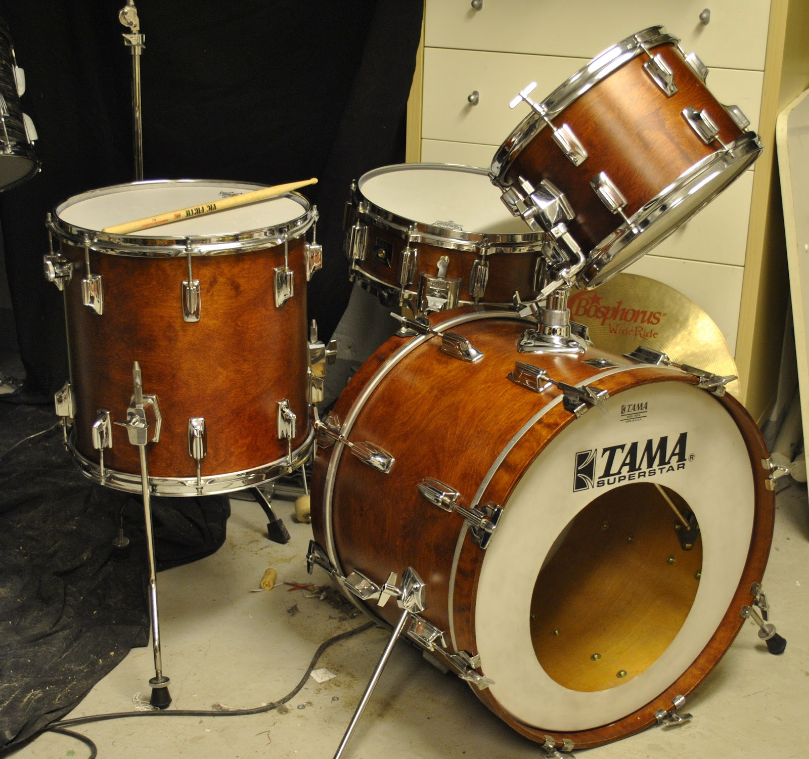 vintage drummer sweden tama superstar. Black Bedroom Furniture Sets. Home Design Ideas