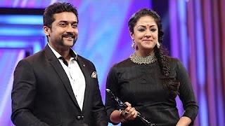 Suriya, Jyothika, Tamannaah, Arya at Filmfare Awards South