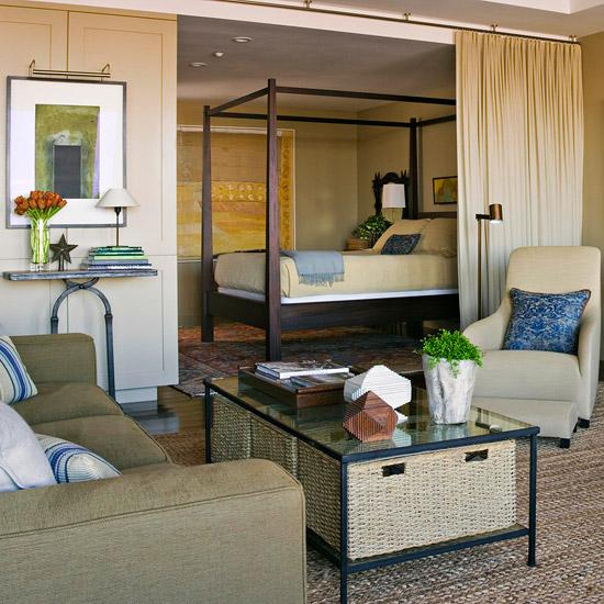Studio Apartment Living Room: New Home Interior Design: Furniture Arrangement Ideas For