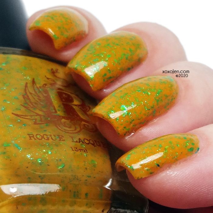 xoxoJen's swatch of Rogue F**k 2020