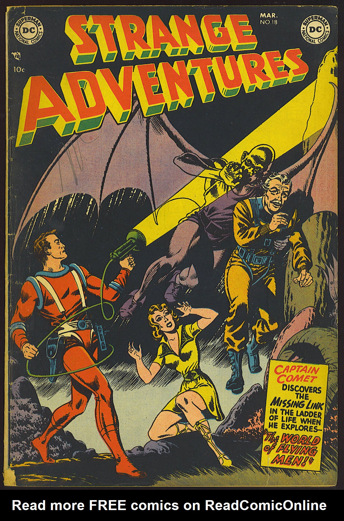 Strange Adventures (1950) issue 18 - Page 1