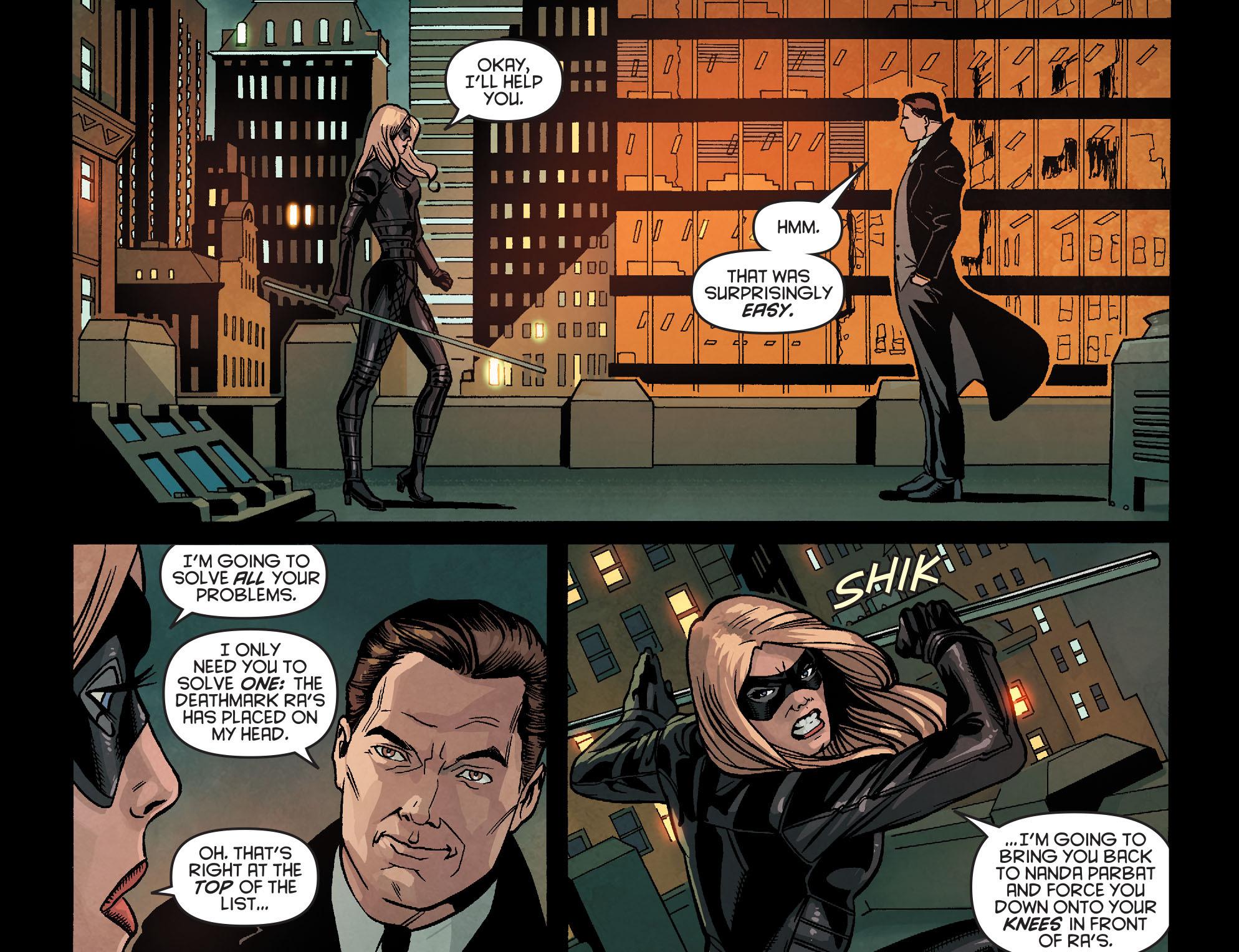 Read online Arrow: Season 2.5 [I] comic -  Issue #24 - 3