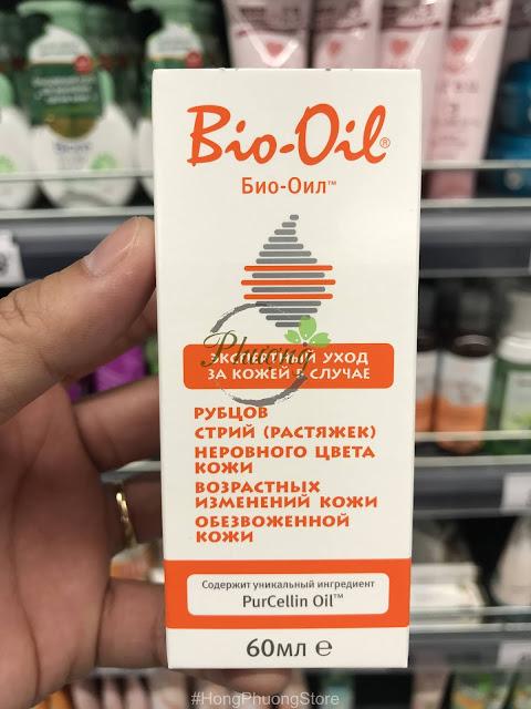 Tinh dầu BIO-OIL 60ML - Công dụng tuyệt vời cho bà bầu
