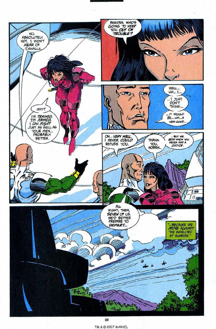 Read online Silver Surfer (1987) comic -  Issue #91 - 25