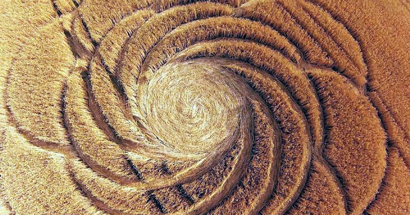 Nuevos crop circles reportados en Alemania y Reino Unido