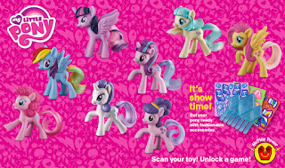MLP 2016 McDonalds Happy Meal Figures