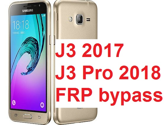 Samsung Galaxy J3 (2017), Samsung Galaxy J3 6 (2018) and Samsung Galaxy J320 hard reset and Google account bypass