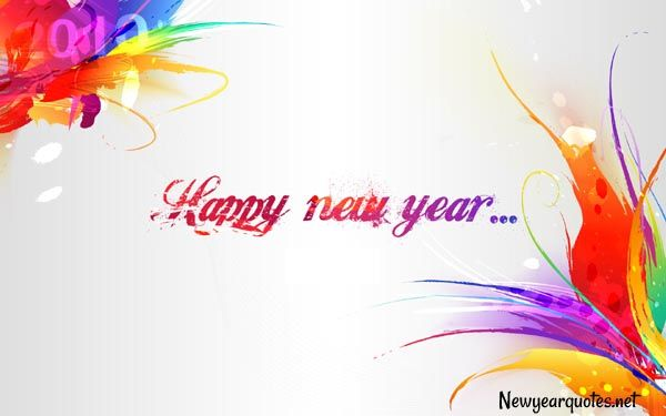 Lovely New Year Wallpaper