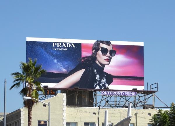 Prada Eyewear F/W 2016 billboard