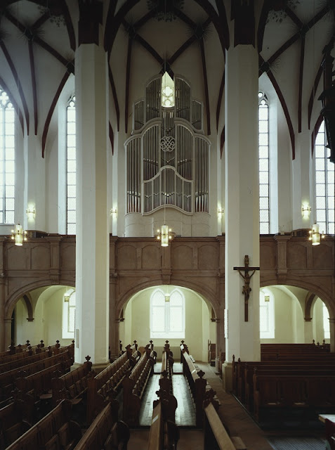 The Bach organ at St Thomas's Church, Leipzig