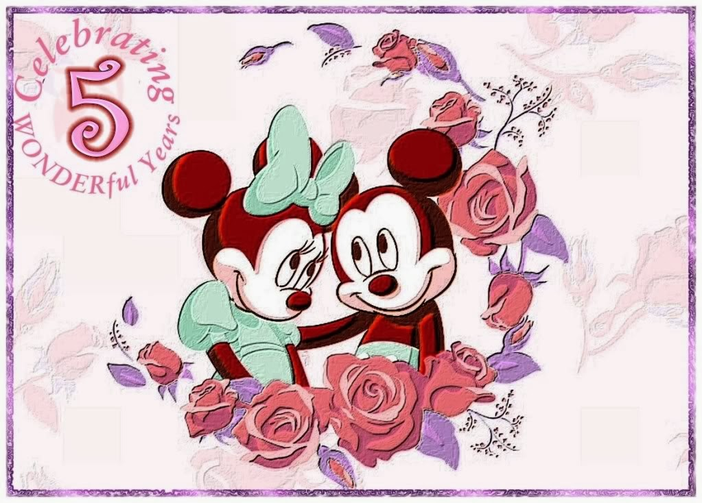 Free Minnie and Mickey Printables for 5th. Anniversary ...
